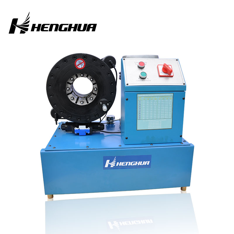 HH51 ce CE approved 6-51mm high pressure hydraulic hose crimping machine