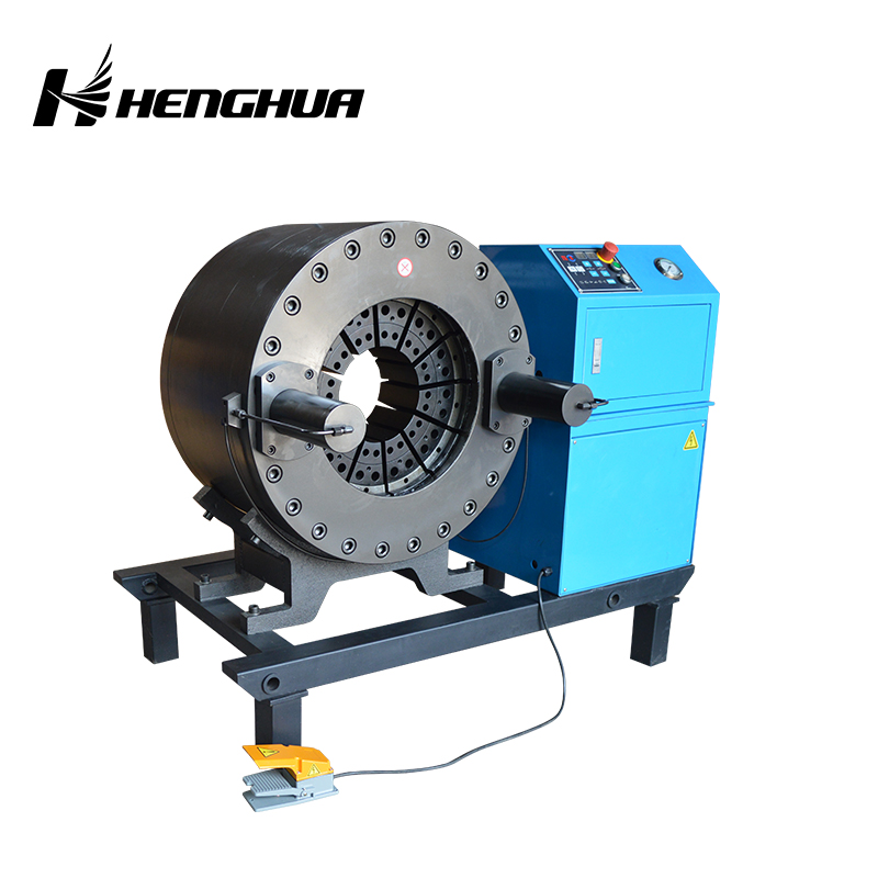 HF120F/240F 102-230/480mm 380v big diameter hydraulic hose crimping machine