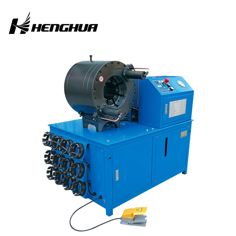 "HF 60A 6""(6-170mm) 380v 19 die sets hydraulic hose crimping machine/Hose crimper"