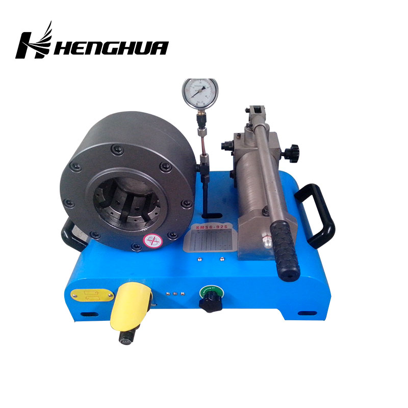 HM32S manual hydraulic pipe crimping and swaging machine