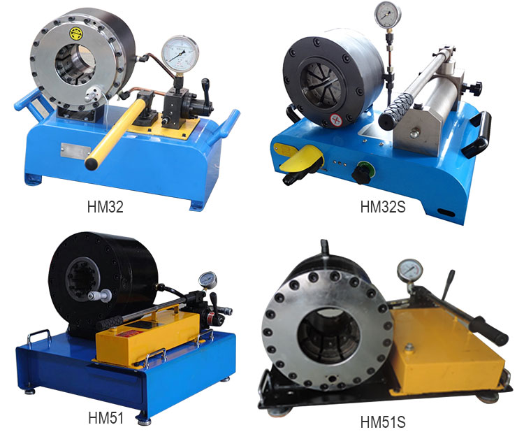 HM32   Manual Easy Operation Hose Pressing  Machine