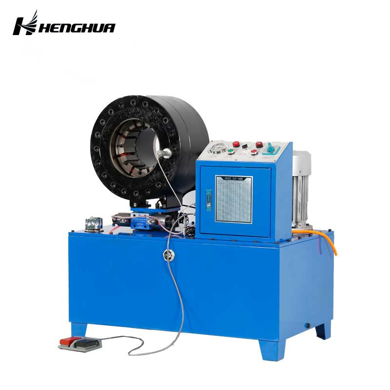 Dx102 CE Approved Hydraulic Hose Crimping Machine with High S