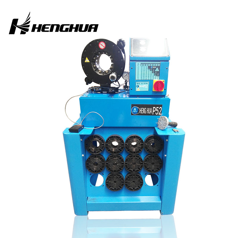 <b>CE Certified P52 With Dies Frame hydraulic hose crimping machine for sale </b>